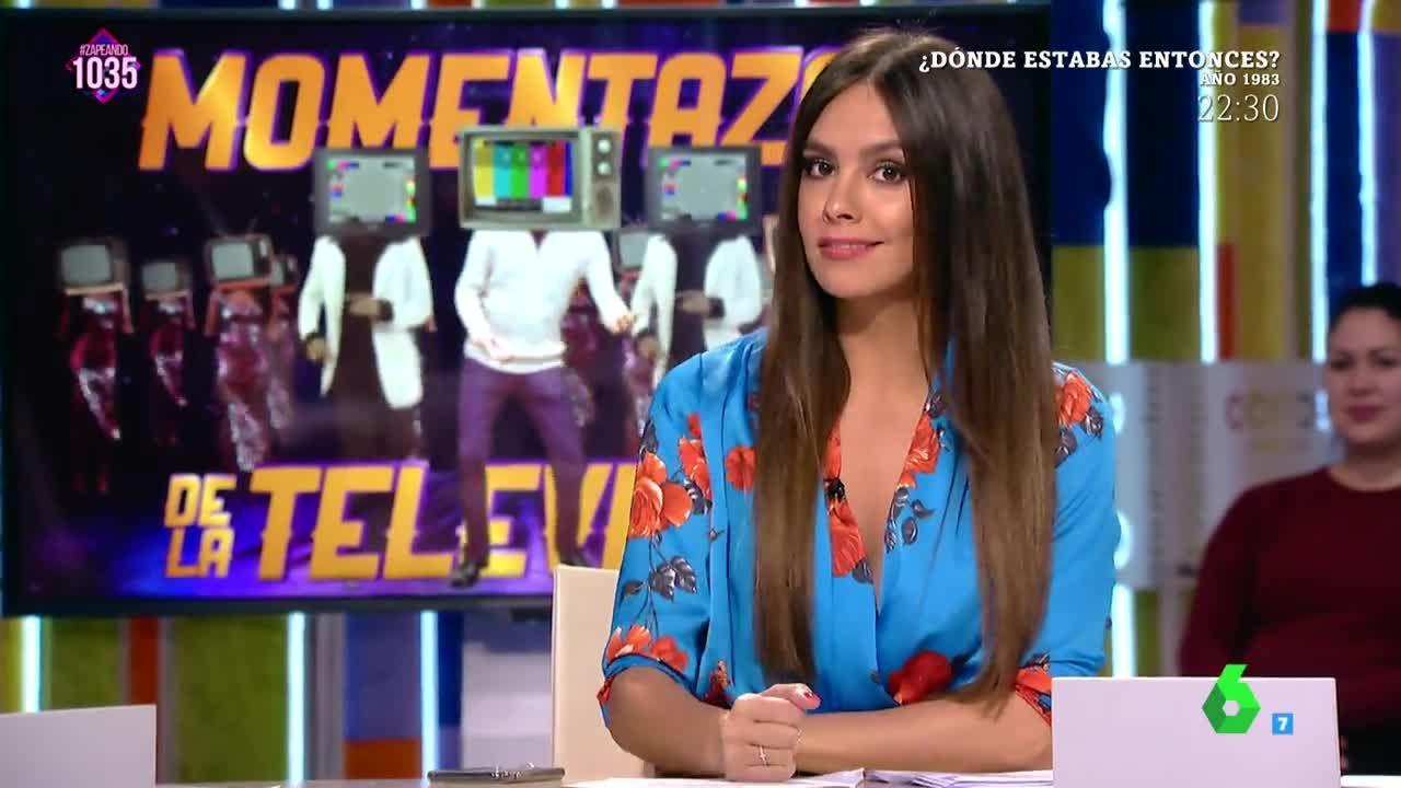Actriz De Porno Que Se Parezca A Cristina Pardo zapeando - la explicación de cristina pedroche de por qué el 'porno' tiene  la culpa de la obesidad en españa