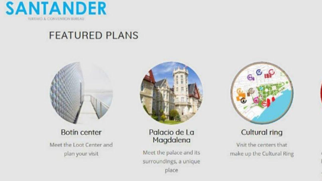 Traducción de la página web de Turismo de Santander
