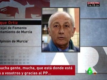 Roque Ortiz, concejal del PP de Murcia