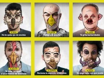 #NoSeasAnimal, campaña contra los piropos en Andalucía
