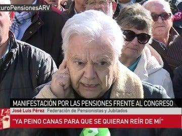 José Luis Pérez, pensionista