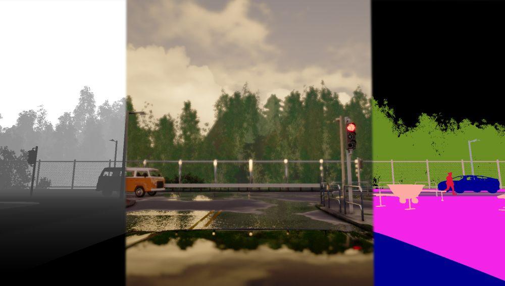 CARLA un entorno virtual para entrenar a los coches autonomos