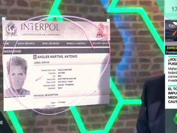 Mediría 1,75 metros, hablaría español y portugués, asesinó a las niñas de Alcàsser…  la 'ficha roja' de máxima prioridad contra Antonio Anglés de la Interpol