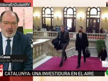 """Jordi Casas: """"El Gobierno del PP está agotado y falto de reflejos. Me recuerda al último tramo de Felipe González"""""""