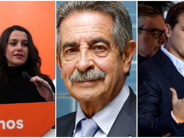 Inés Arrimadas, Miguel Ángel Revilla, Albert Rivera