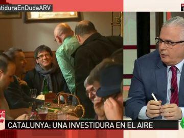"""Baltasar Garzón, sobre la investidura de Puigdemont: """"Ya no da tiempo, nos olvidamos de la burocracia"""""""