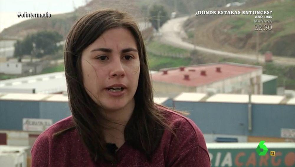 Cristina Fuentes, de la Asociación Pro Derechos Humanos de Andalucía