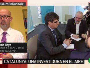 """Gonzalo Boye: """"Mis defendidos no van a ir y es bastante impensable que Puigdmeont comparezca"""""""