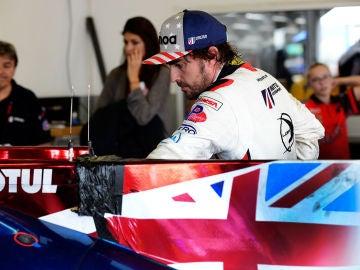 Fernando Alonso, en la ciudad de Daytona Beach