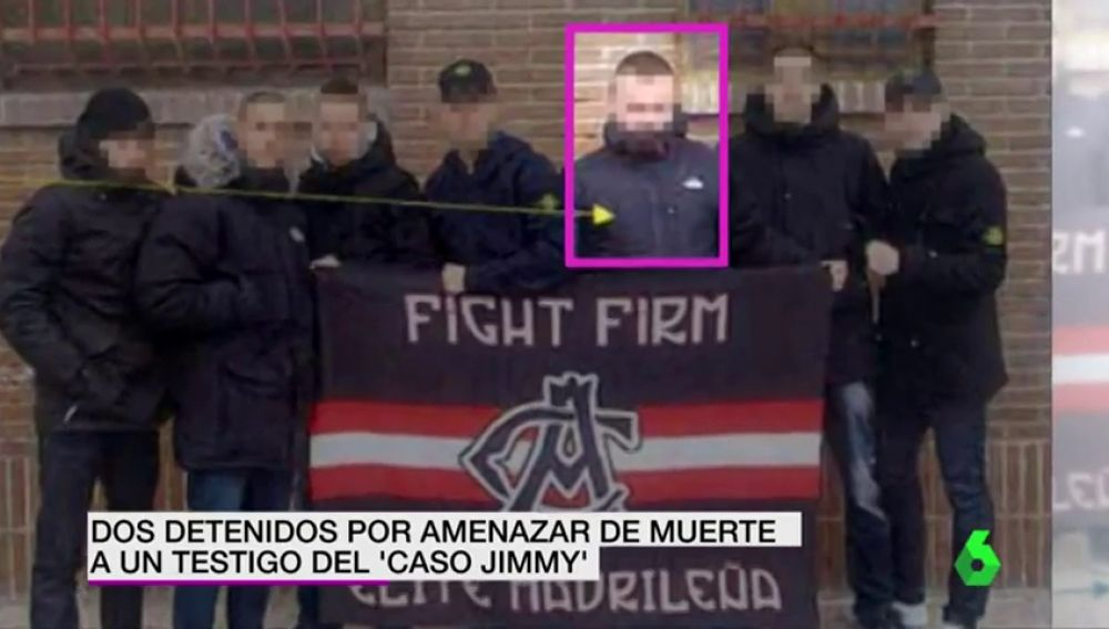 Dos detenidos por amenazar de muerte a un testigo del 'caso Jimmy'