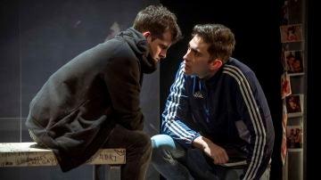 Escena de la obra de teatro 'La edad de la ira'