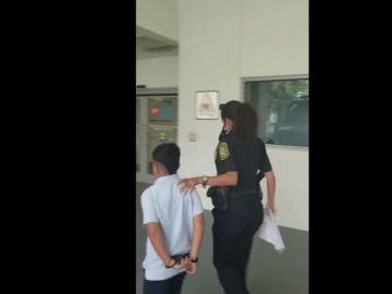 Detención de un menor en Florida