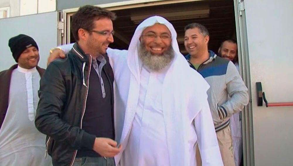 Jordi Évole en una imagen del programa 'El mundo musulmán en España'