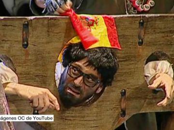 La polémica por la decapitación de Puigdemont