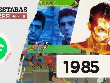Dónde estabas entonces 1985
