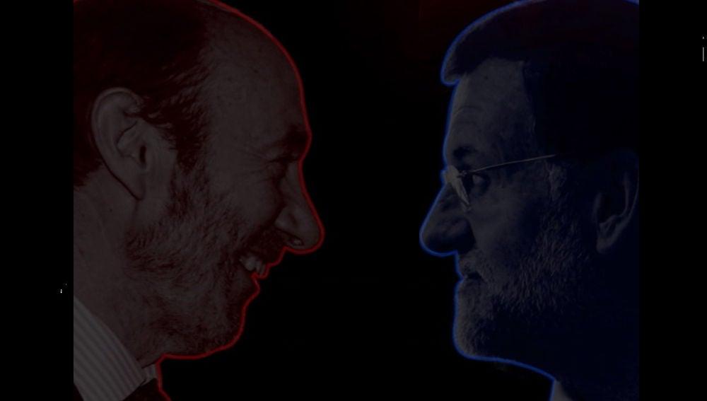 Rubalcaba y Rajoy, cara a cara en Salvados