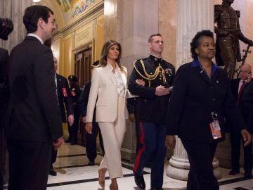 La primera dama Melania Trump