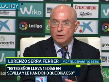 El zasca de Serra Ferrer a Montella: