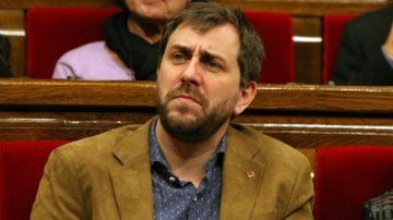 El exconseller catalán, Toni Comín