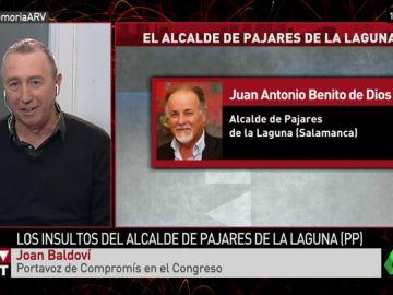 """Joan Baldoví, sobre el alcalde del PP de Pajares de la Laguna: """"El expediente que el PP le ha abierto debe terminar en su expulsión"""""""