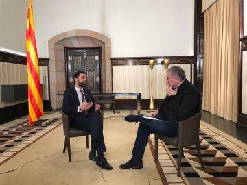 Entrevista de Ferreras a Roger Torrent