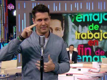 Jaime Cantizano, en Zapeando