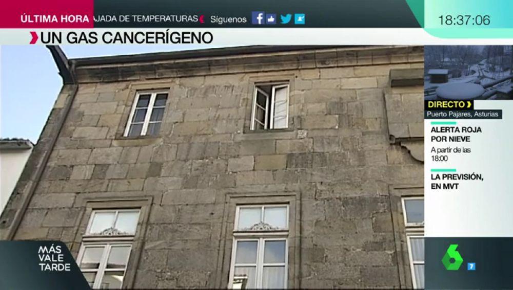 El Radón, el gas causante de más cáncer de pulmón en no fumadores que está presente en miles de casas de España