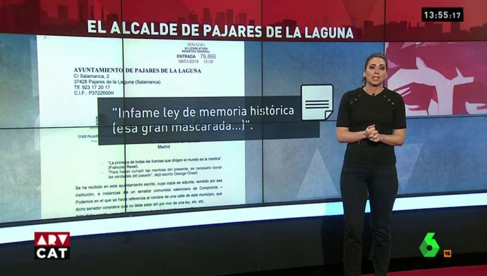 """""""Ley de Memoria Histérica"""", """"Zapatero es un indigente mental"""", """"proterroristas""""… las polémicas palabras del alcalde del PP de Pajares de la Laguna"""