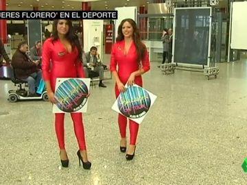'Mujeres florero' en el deporte