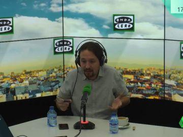 """Pablo Iglesias: """"Un gobierno del PSOE con Unidos Podemos sería un gobierno mucho mejor para España"""""""