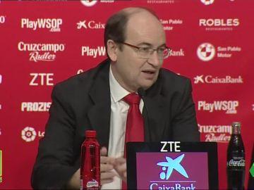 Pepe Castro, presidente del Sevilla