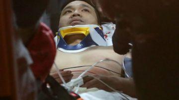 Un hombre sonámbulo sobrevive tras caer desde un octavo piso