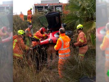 Rescatan a una mujer de 84 años que se sacó el carnet de conducir hace solo un mes tras caer por un barranco