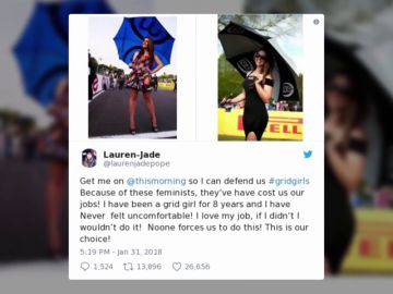 """El mensaje viral de una azafata: """"Por culpa de estas feministas..."""""""