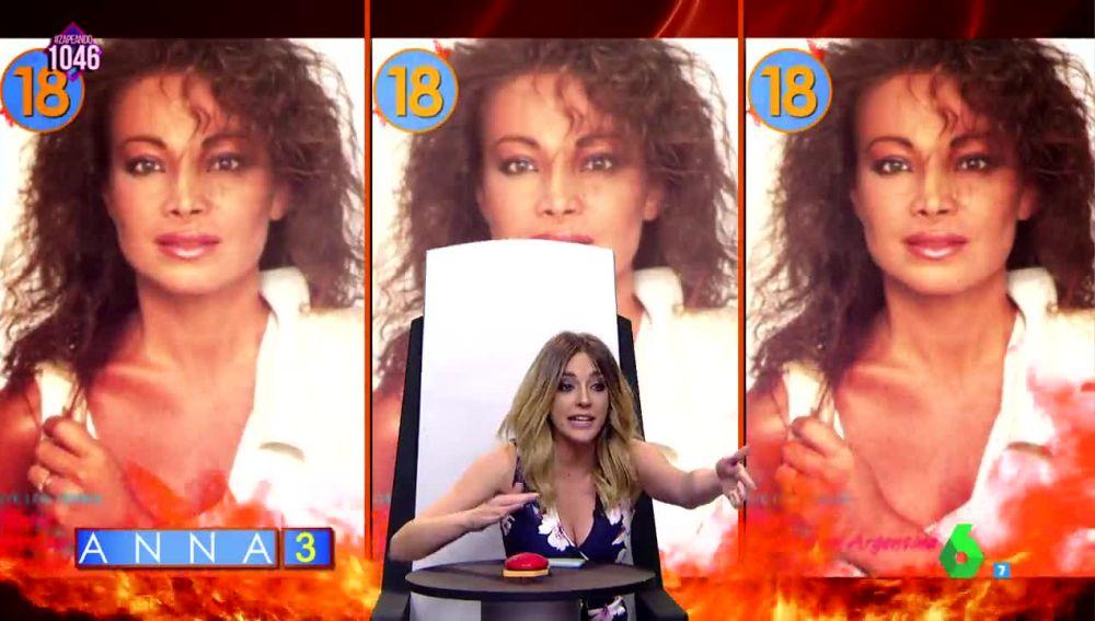 """Anna Simon confunde a Paloma San Basilio con """"la Jackson"""" en el Juego de la semAnna"""