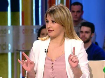 Lucía Gil plantea una duda sobre Eurovisión