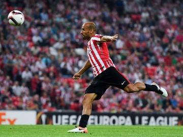 Mikel Rico durante un partido