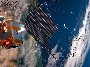 Se han registrado más de 290 explosiones de satélites en órbita desde 1961
