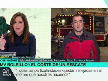 José Jiménez, bombero