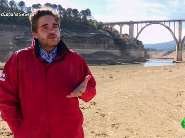 Miguel A. Sánchez, de la Plataforma en defensa del río Tajo