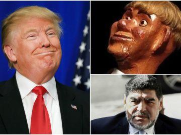 Maradona llamó 'Chirolita' a Trump, y este, le negó el visado