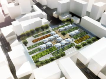 Proyecto modelo de alojamiento para refugiados