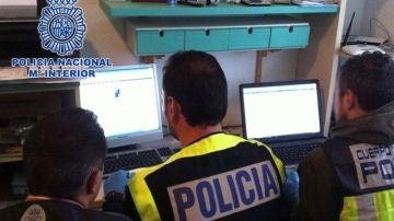 Fotografía facilitada por la Policía Nacional