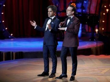 Los humoristas y presentadores de los Goya 2018 Ernesto Sevilla y Joaquín Reyes