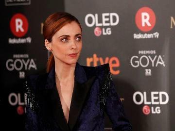 Leticia Dolera en la alfombra roja de los Goya 2018