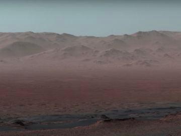 Una imagen de la superficie de Marte