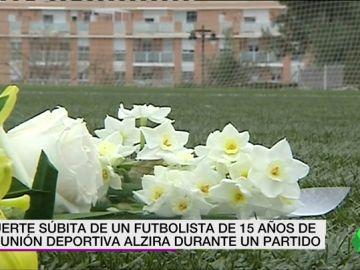 """Muere un jugador del equipo cadete de la UD Alzira de """"muerte súbita"""""""