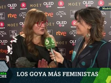 Isabel Coixet, en la gala de los premios Goya