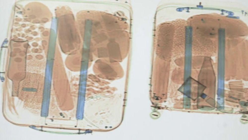 La imagen de uno de los escáneres de Barajas