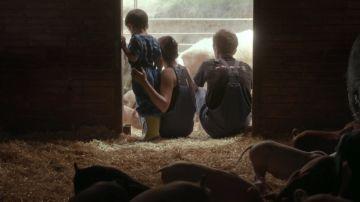 Una pareja propietaria de una granja ecológica en Cataluña